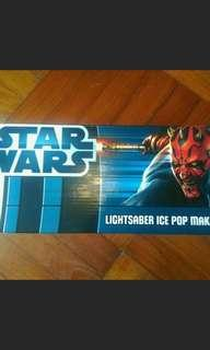 Starwars Ice pop maker