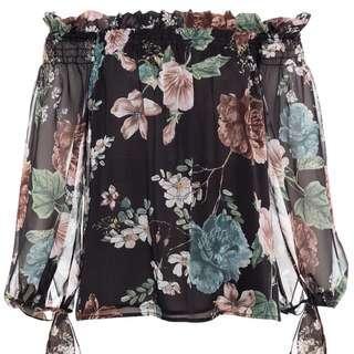 💫 Bardot Amelia Top Floral