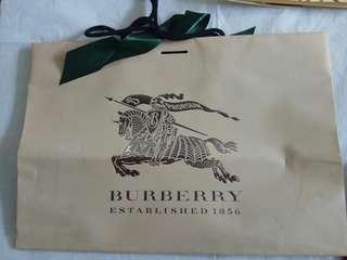 Burberry Paperbag