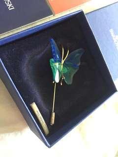 Swarovski Crystal Brooch Pin