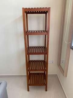 Scanteak REKKI 5-TIER SHELF