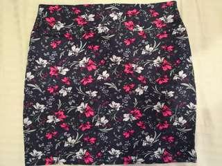 Cotton On Floral Bandage Skirt