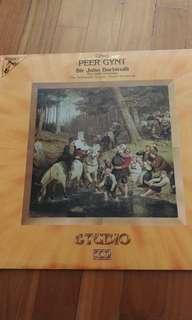 Vinyl record peer gynt greig