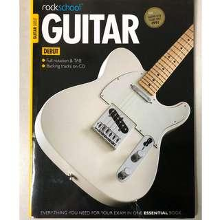 Rockschool Guitar Debut Grade (Exam book + CD) #NEW99