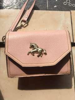 sling bag / slinbag / slingbag babypink