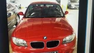 BMW 116i AUG 2010