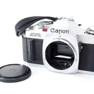 canon AV-1 SLR Camera body only Film Camera