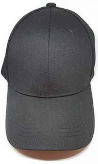Cap (black fabric material)