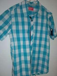 Blue Checkered Miki Shirt