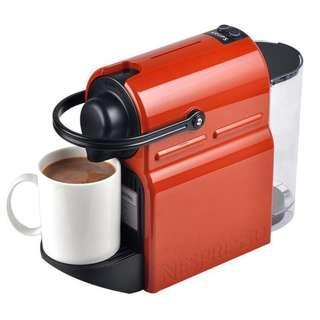 🚚 雀巢咖啡機 橘色 附贈30顆膠囊