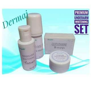 Dermaj Premium Underarm Whitening Set