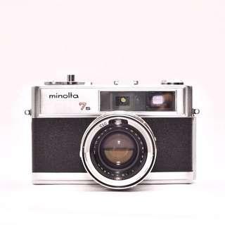 MINOLTA 7S Rangefinder: Film Tested - See sample photos