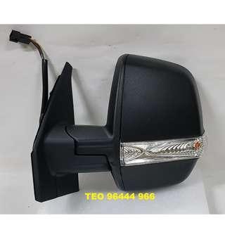 Fiat Doblo '2010 Onwards Door Mirror W/Signal Lamp (NEW)