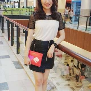 Leather Skirt From Topshop