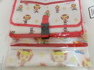 Baby Wet Bag and Baby Changing Mat