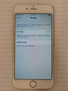 IPhone 6 64GB 剛換電 ios12.01