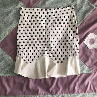 Polka Dot Fish Tail Skirt