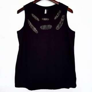 TOPSHOP CHAINS HOLE TOP