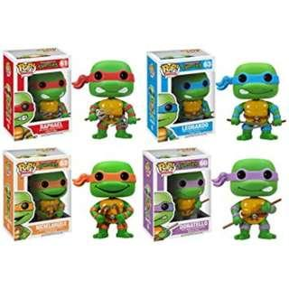 🚚 Funko POP Teenage Mutant Ninja Turtles Figure (Available: Raphael, Michelangelo, Leonardo, Donatello)