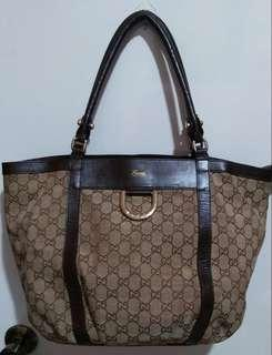 Vintage Medium Brown Gucci