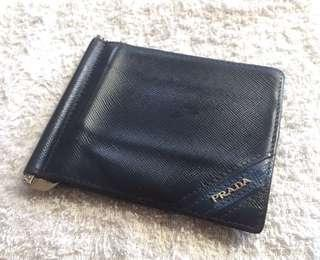 Authentic Prada money clip wallet Singapore