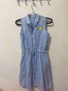 Cotton Ink Dress Lemon