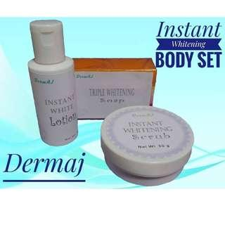 Instant White Body  Set