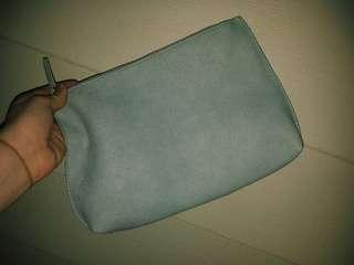 GORGEOUS BABY BLUE CLUTCH BAG