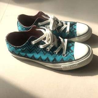 絕版 Converse x Missoni All Star 聯名款短筒鞋