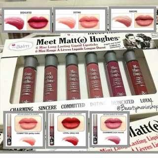 THE BALM Meet Matte Hughes Vol. 3 Lip Tint/ Lipstik PER BOX