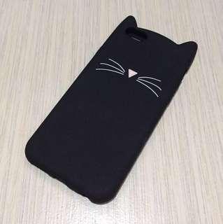 Black Kitty iPhone Case
