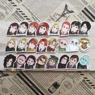 Harry Potter 24pcs Sticker Pack