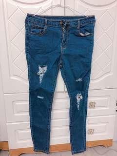 🚚 刷破顯瘦牛仔褲