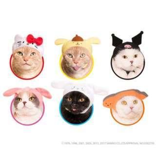 🚚 大耳狗 頭套 貓咪 狗狗 寵物 毛小孩 裝扮 可愛 打扮 趣味 扭蛋 轉蛋 寵物服飾 寵物配件