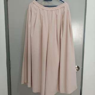 Uniqlo wide pants/ palazzo free shirt