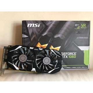 MSI GTX 1060 6GB OC / GTX1060