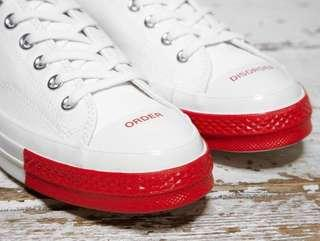 d7844f42321 Converse x Undercover Chuck Taylor All Star 70s Ox Low - White Red