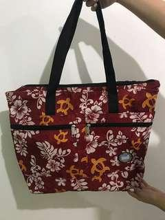 Red Travel Tote Bag