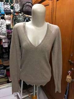 Zara Knit Original Latte Cardigan Sweater