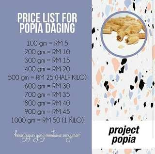Popia Daging Rangup #MMAR18