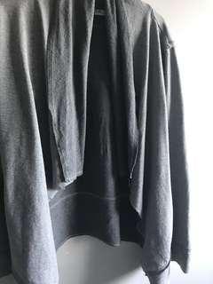 Slowly grey shawl cardi