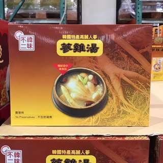 🚚 Costco好市多 🇰🇷韓味不二 人蔘雞湯 1kg x3袋