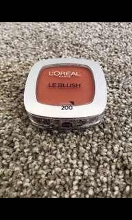 L'Oréal Paris Le Blush #200 Golden Amber