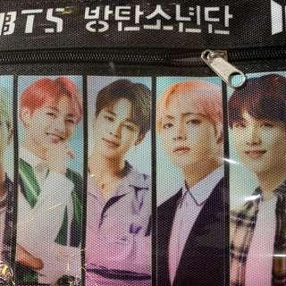BTS bag with zip