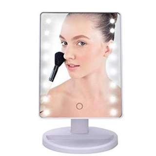 White LED Mirror with Touch Screen (White color) #NEW99