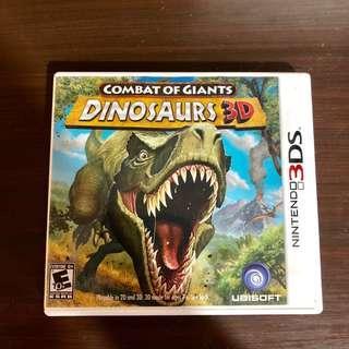 DINOSAURS 3D - Nintendo 3DS