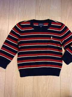 Polo Ralph Lauren boy's sweater 男童棉質針織上衣