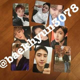 Exo vivace Official photocard