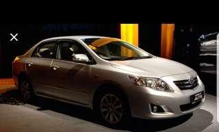 Toyota Altis personal / PHV ready