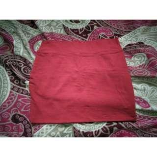 [Forever21] Pencil Skirt (Red)